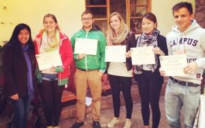 certificates of wiracocha spanish school