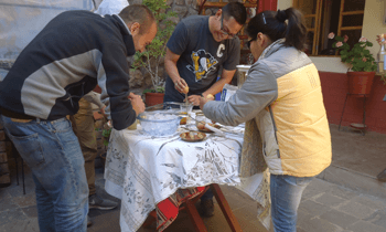 Cooking lessons of tipical foods in cusco peru
