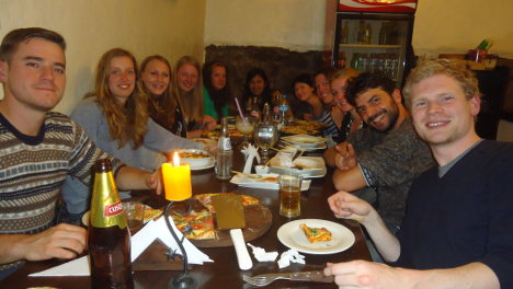 Wiracocha Spanish School dinners